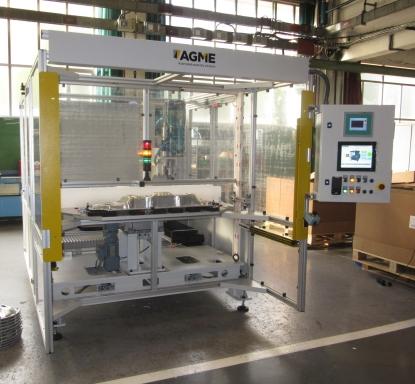AGME suministra maquinaria especial para montaje automático de los sistemas de la batería